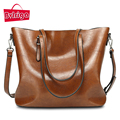 BVLRIGA Vintage women bag brand tote bag 2017 fashion women handbag large capacity leather shoulder bag casual crossbody bag new