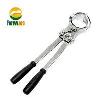 Stainless Steel Ram Cow Bloodless Castration Castrated Male Animals Pliers Quality Assurance For Sheep Cattle