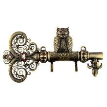 Фиксация винтами, Стены дверь вешалки крюка. Гостиная и кухня старинных крюк. » Ключ к счастью » экономка. Домашнего декора из сова