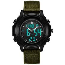 Addies fashion men sport digital watch student lover quartz waterproof luminous water resistant outdoor wrist