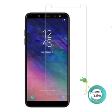 2PCS A6 Plus 2018 Glass For Samsung Galaxy Screen Protector Tempered for + Film
