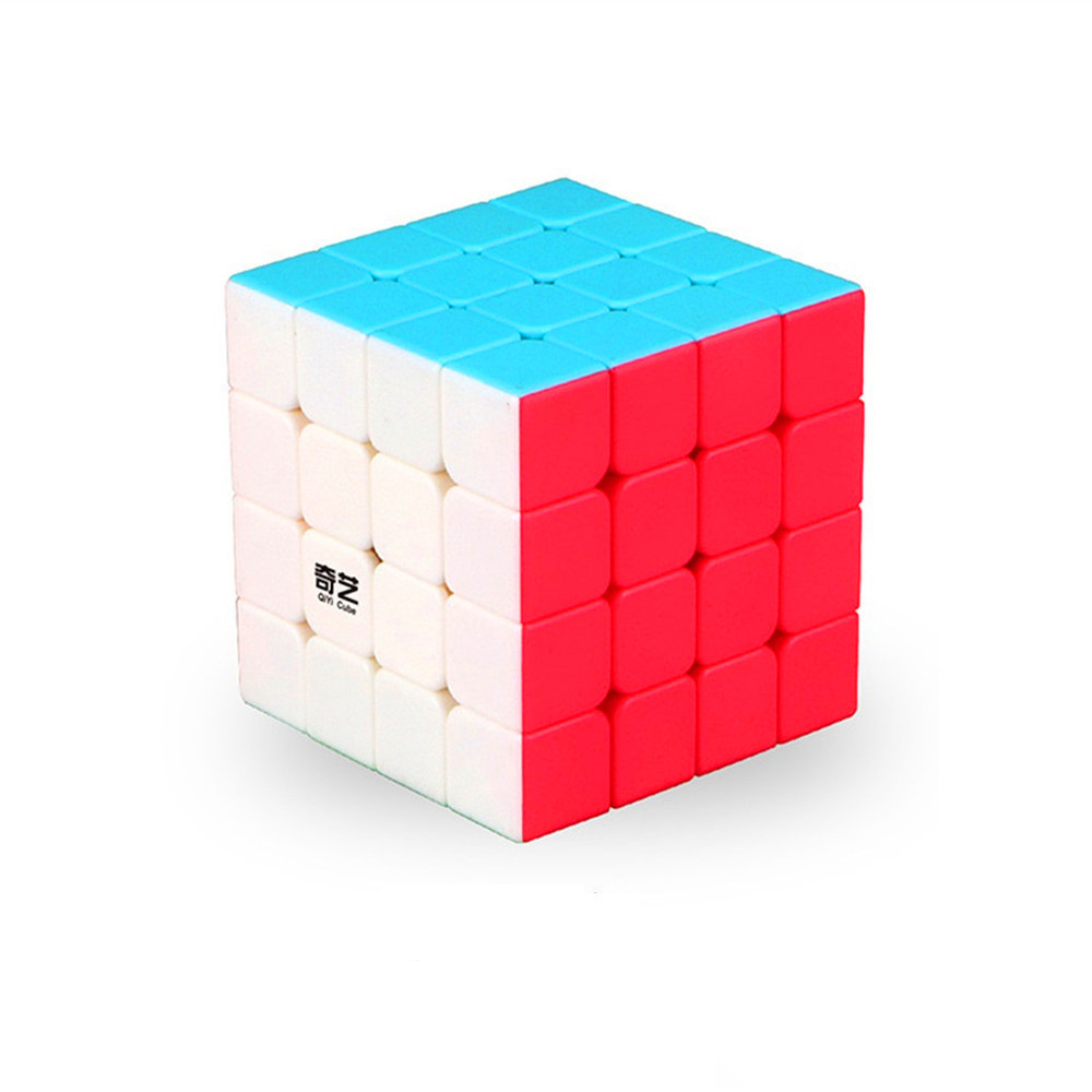 <font><b>QIYI</b></font> <font><b>QiYuan</b></font> <font><b>S</b></font> 4x4x4 Speed Magic Cube Stickerless Professional Puzzle Cube Educational Intelligence <font><b>4x4</b></font> Puzzle Toys image