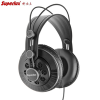 Superlux HD681B 3.5mm Jack Wired Super Bass Dynamic Earphone Noise Cancelling Headset with Adjustable Headband Cable hd681 evo