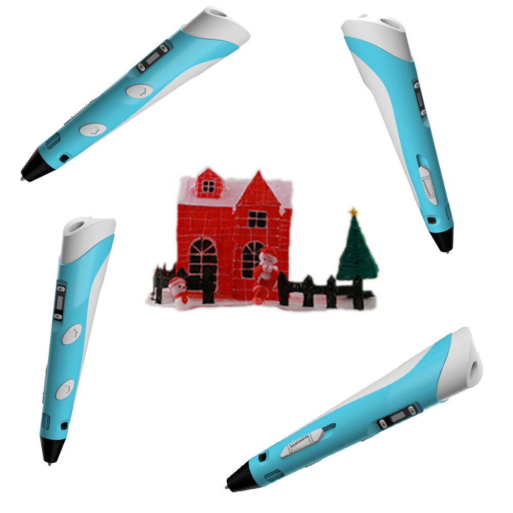 2018 hot new products 2nd generation 3d art digital printing drawing pen with LCD screen display cheap price for sale