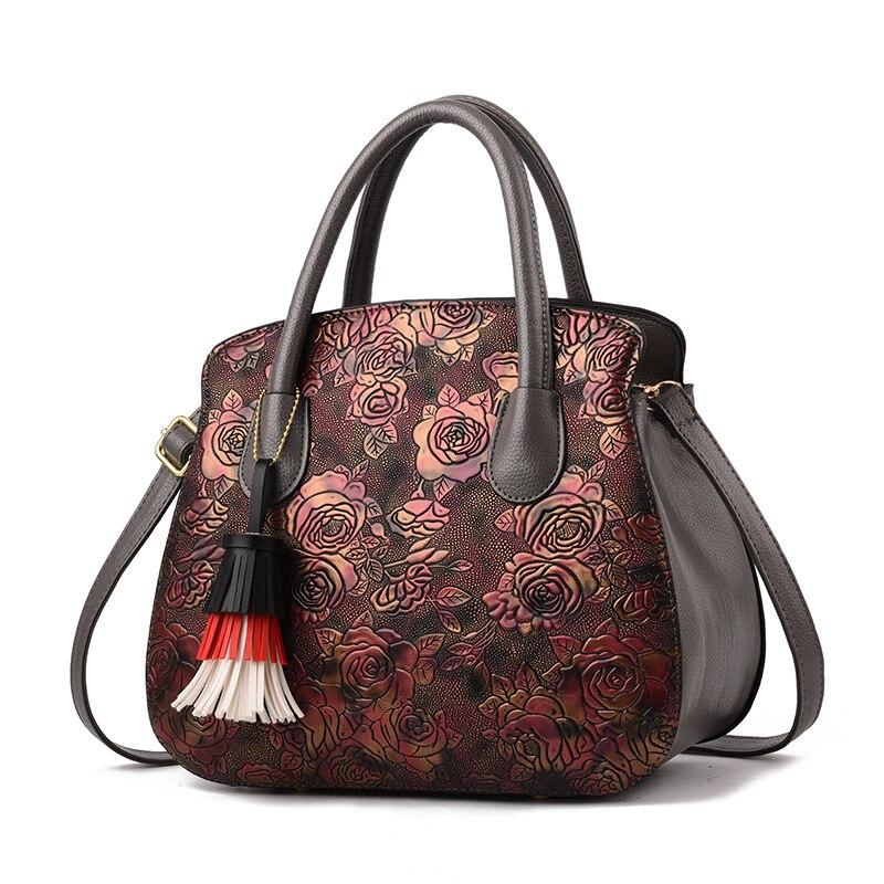 Bolsos Luxury Handbags Women Bags Designer PU Leather Female Crossbody Shoulder Bag Lady Elegant Tote Bag Messenger Sac Femme in Top Handle Bags from Luggage Bags