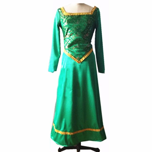 2018 Shrek Princess Fiona Cosplay Costume  sc 1 st  AliExpress.com & 2018 Shrek Princess Fiona Cosplay Costume-in Anime Costumes from ...