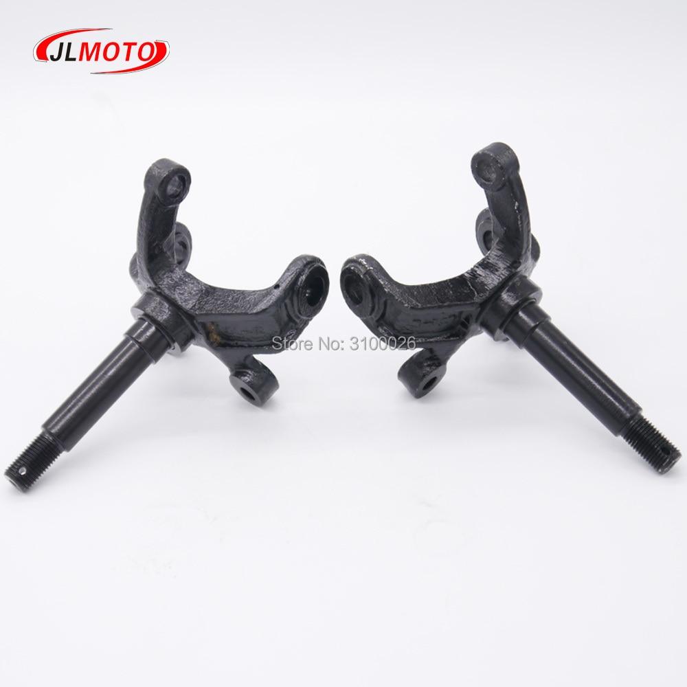 1Pair/2pcs Steering Strut Knuckle Spindle Fit For China ATV 110cc 150cc 200cc 250cc Go Kart Buggy UTV Quad Bike Parts
