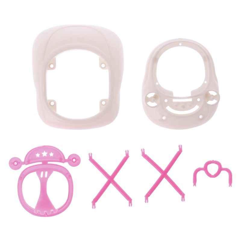 Novo andador de plástico rosa para barbie casa boneca miniatura acessórios 95ae