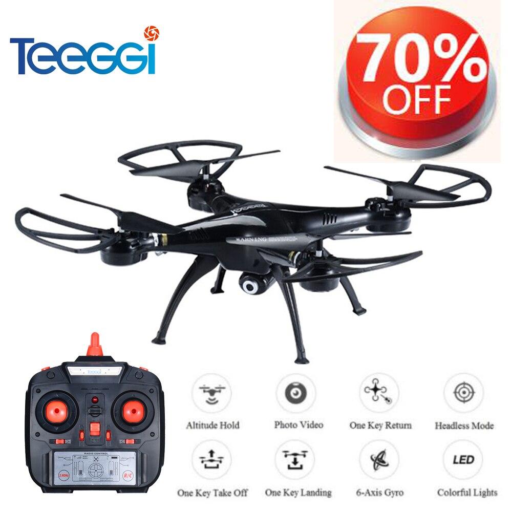 Teeggi M5A RC Drone Mit 5MP 1080 p HD Kamera 6-Achse Fernbedienung Spielzeug Hubschrauber Quadcopter Profissional Eders VS SYMA X5C X5HW