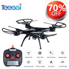 Teeggi M5A RC Drone With 5MP 1080P HD Camera 6-Axis Remote Control Toys Helicopter Quadcopter Profissional Dron VS SYMA X5C X5HW(China)