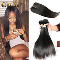 7A Brazilian Virgin Hair With Closure Unprocessed Cheap Human Hair 3 Bundles Brazilian Straight Hair With Lace Closure Soft