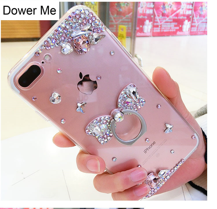 6 Crystal Pearl Photo Picture Frame Diamond Bowknot: Aliexpress.com : Buy Dower Me Bling Crystal Diamond