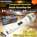 Professional Metal PK7000 Dynamic Handheld Mic Wired Condenser Recording Studio Microphone Mike Microfono Karaoke Microfone PC