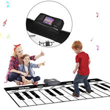 2019 New Play Keyboard Musical Music Singing Gym Carpet Mat Best Kids Baby Gift zabawki dla dzieci #L20(China)