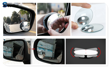 Car rear view blind spot mirror wide angle lens For BMW E46 E39 E38 E90 E60 E36 F30 F30 E34 F10 F20 E92 E38 E91 E53 E70 X5 X3 image