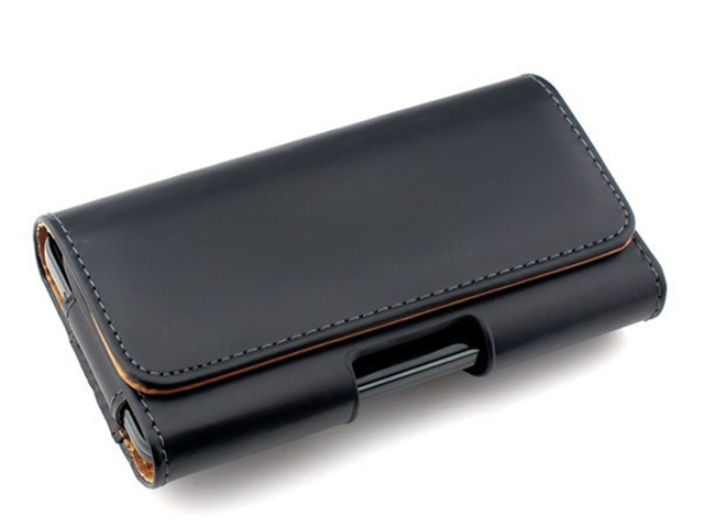 Universal Casual Leather Phone Pouch With Holster Bag Belt For Mobile Phones 1
