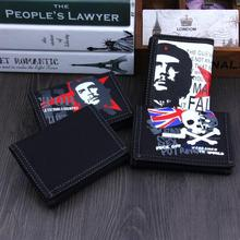 Högkvalitativa modehantar plånböcker Långa kanfas plånbok Mäns dragkedja Koppling Myntväska Man Wristlet Bifold Plånbok 4 Färg