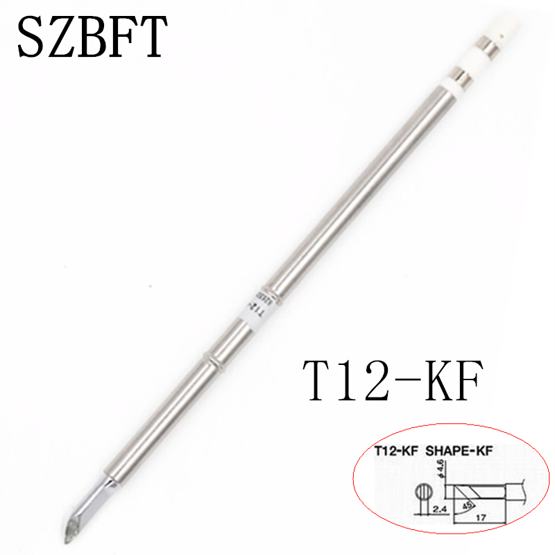 SZBFT Solder Iron Tips T12-KF KU K B BZ B2 B2Z Ect Series For Hakko Soldering Rework Station FX-951 FX-952 Free Shipping