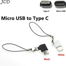 Jcd Tipe C OTG Micro USB untuk Tipe-C Kabel Charger untuk Samsung Galaxy S8 S9 Plus A8 OTG Typec Pengisian Charger Converter(China)