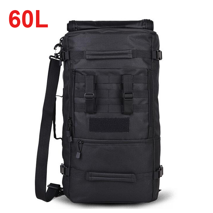 60L Large Capacity Backpack Climbing Mountaineer Outdoors Tactical Shoulder Bag все цены