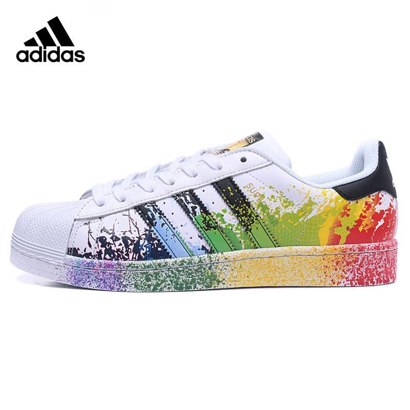 Adidas Originals Superstar Chaussures de Marche Pour Femme, Couleur, Résistant À L'abrasion Léger Respirant anti-dérapant D70351