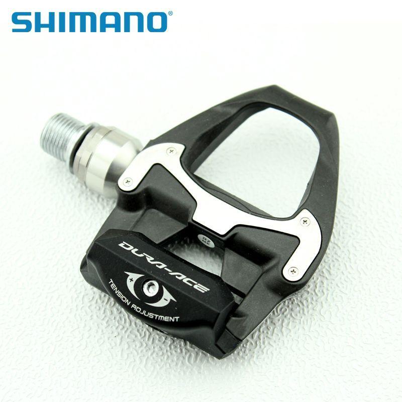 "Shimano Dura-Ace PD-9000 Carbon Road <font><b>Bike</b></font> <font><b>Pedals</b></font> Clipless SPD-SL 9/16\"", NEW"