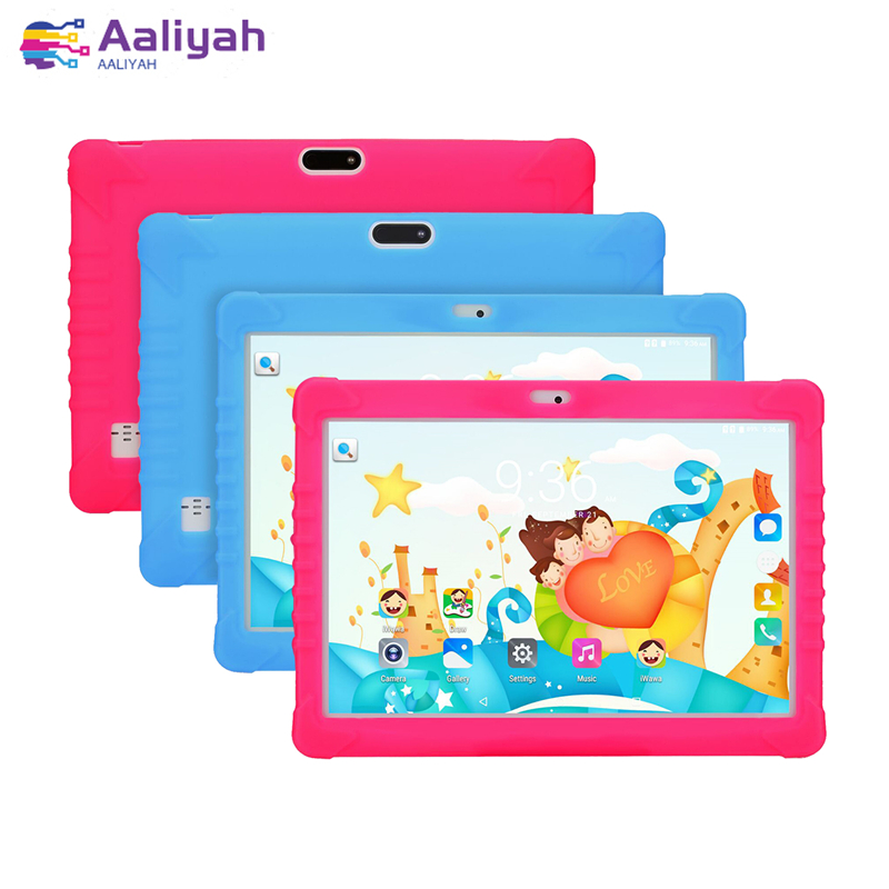 10 Inch 3G Phone Call Tablets Android 6.0 Child Learning Machine 1280x800 2G 32G 3G Dual SIM Card Wifi Bluetooth FM Tab IPS