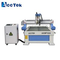 AccTek cnc 1224 plasma cutter combined plasma metal cutter water cooled cnc router for wood kitchen