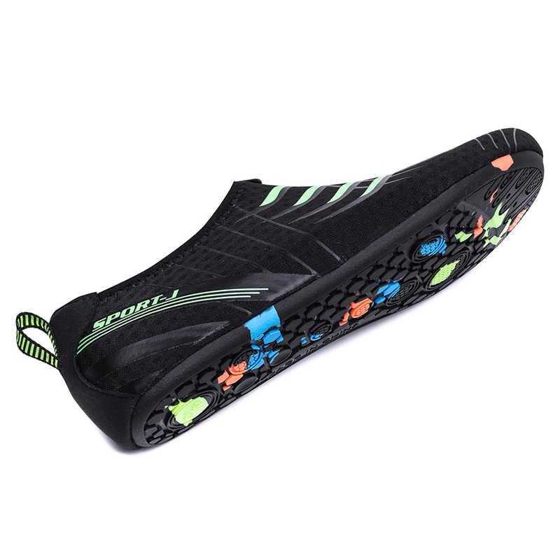 Donne Degli Uomini di Nuoto Scarpe Unisex Summer Beach Scarpe di Acqua Pantofola Quick-Dry Aqua Scarpe da Uomo Scarpe da Tennis Leggero Scarpe da Trekking