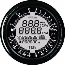 9 32 в 85 мм gps Спидометр тахометр датчик давления масла температуры