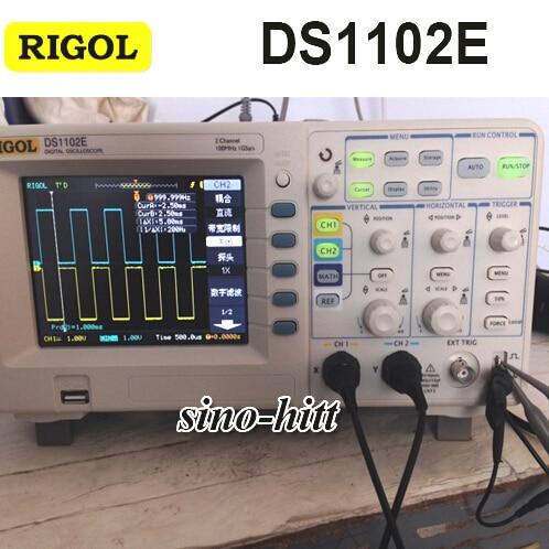 Original Rigol DS1102E 100MHz Digital Oscilloscope Oscillograph Oscillometer