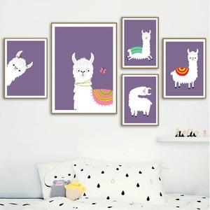 Image 1 - Llama Alpaca dessins danimaux