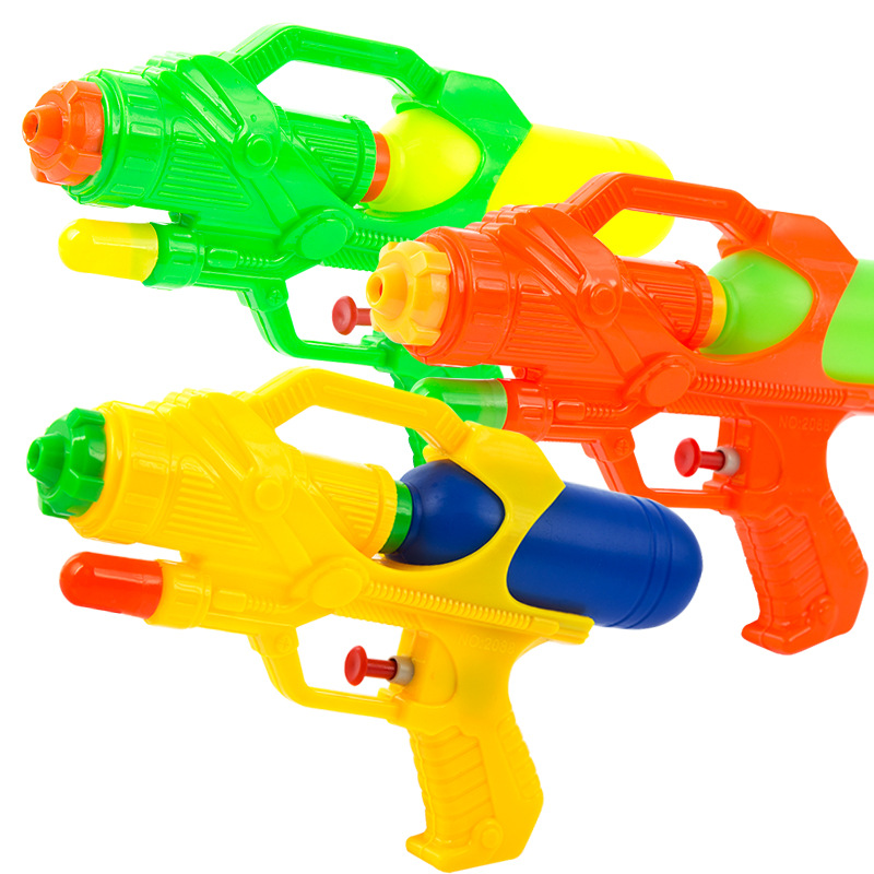 1pcs Summer Boys Girls Game Playing Tools Soaker Squirt Ocean Pool Boys Pump Action Water Gun Pistol Toys For Children