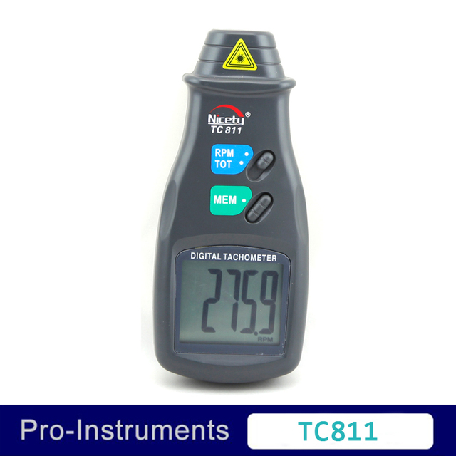 nicety tc811 digital laser non contact tachometer rpm meter withnicety tc811 digital laser non contact tachometer rpm meter with memory for max min