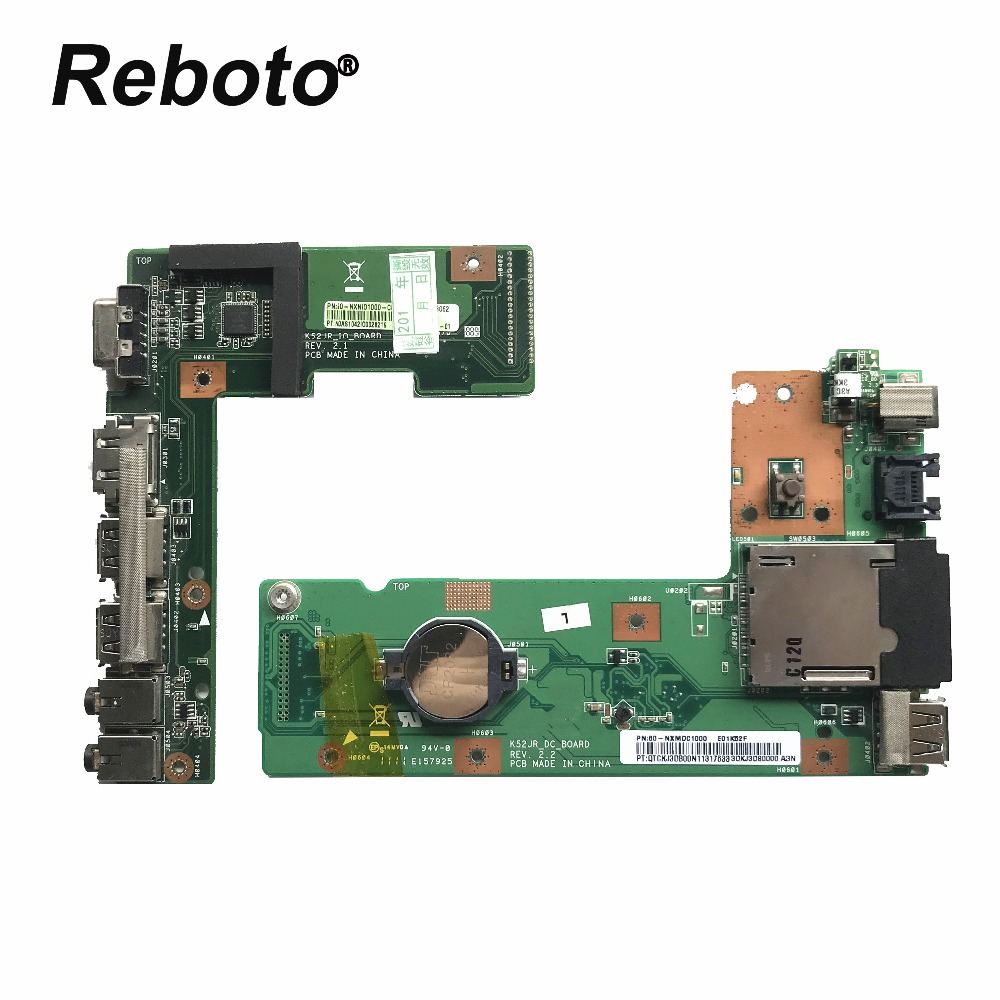 OriginFor ASUS K52 K52J K52JR K52JC K52DR X52F K52F X52J DC Power Jack Audio Board 60-NXMDC1000 100% Tested Fast Ship