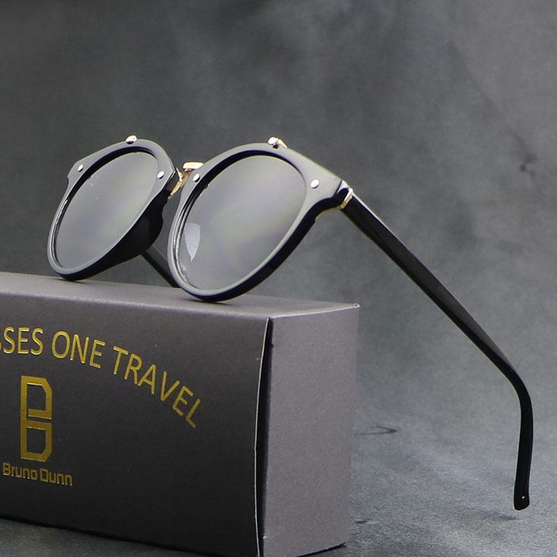 Vintage Fashion Rodada Mulheres Óculos De Sol 2017 de Design Da Marca óculos  de Sol oculos de sol feminino óculos de sol lunettes de soleil de marca ... daeac93d0e