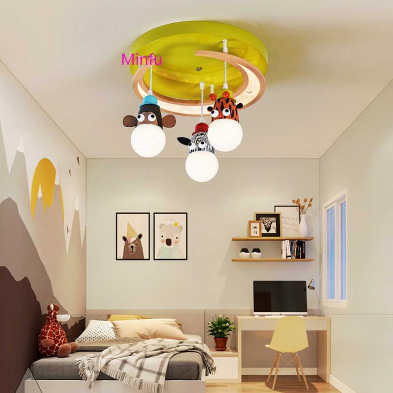 Cartoon Led Light Children S Room Pendant Lamp Creative