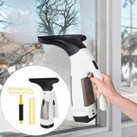 Automatic Multifunctional Window Cleaner Vacuum Home Car Window Cleaner Wireless Rechargeable Glass Cleaning Tool Set