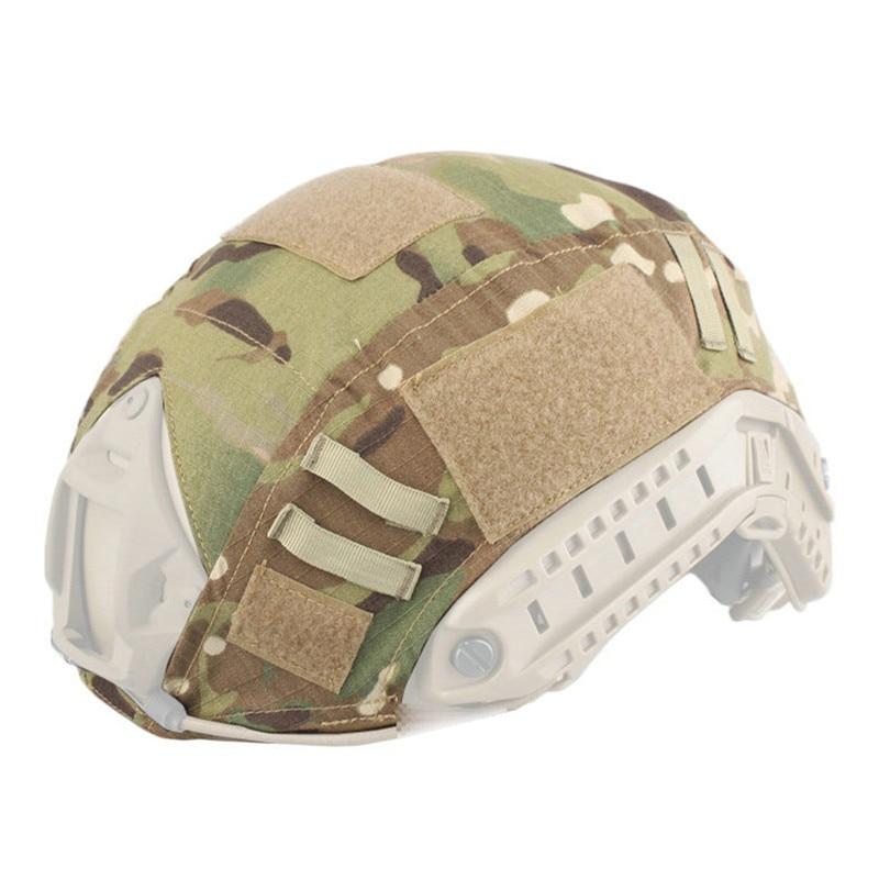 Открытый Пейнтбол тактику игры, тактические военные камуфляж шлем Крышка для верховой ез ...