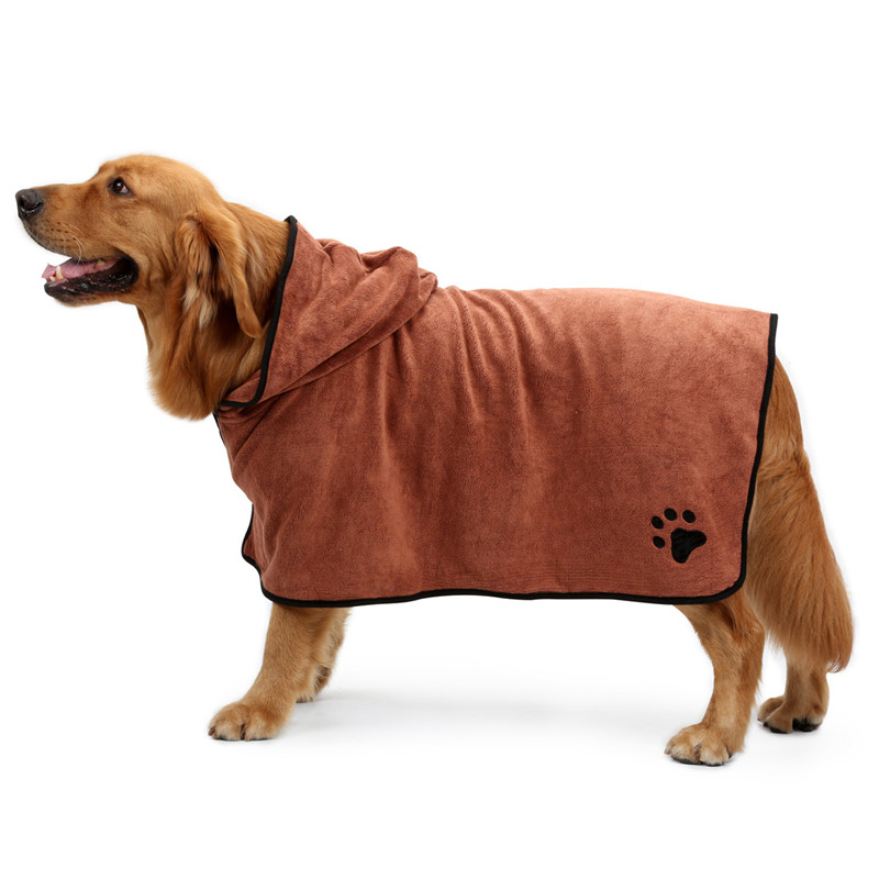 Dog Bathrobe (6)