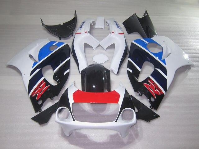 Body Parts Fairing Kit For SUZUKI SRAD GSXR600 750 96 97 98 99 00 White Blue