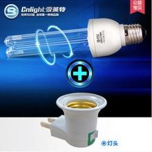 Every family needs Ultraviolet Lamp UVC light bulb 220v 15w E27 with lamp base a395 все цены
