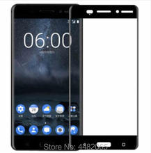 For Nokia 6 Tempered Glass 3D Original 9H Full Cover Protective Screen Protector Film For Nokia