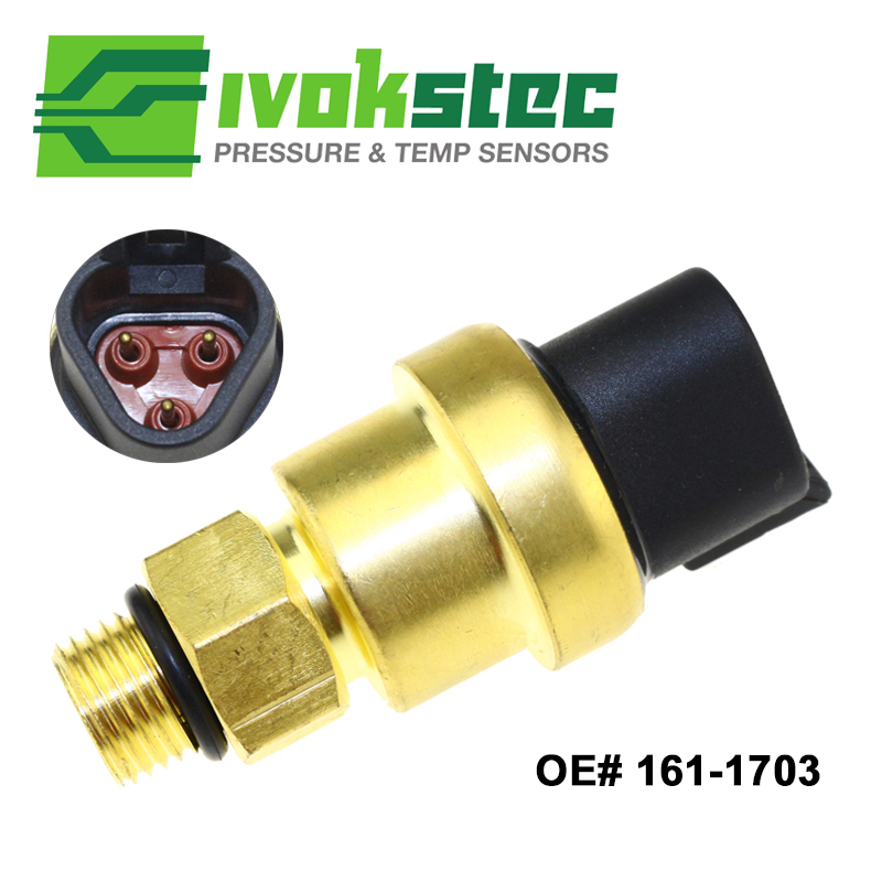 US 20 OFF 161 1703 Heavy Duty GP Pressure Sensor Sending 1611703 For Caterpillar CAT Excavator 325D 330C E325D 725 730 MT735 MT745 MT755 In