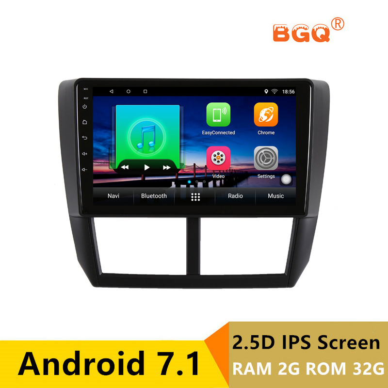 9 2G RAM 32G ROM Android Car DVD Video Player GPS For Subaru Forester 2008 2009 2010-2012 audio car radio stereo headunit wifi joying hd 9 screen multimedia player 4gb ram octa core android 8 1 car dvd gps navigator radio for subaru forester 2008 2012