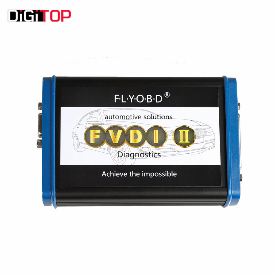 Promotion FVDI Commander For Fiat/Alfa /Lancia V5.7 Software USB Dongle FVDI Auto Odometer Programming Diagnostic Tool
