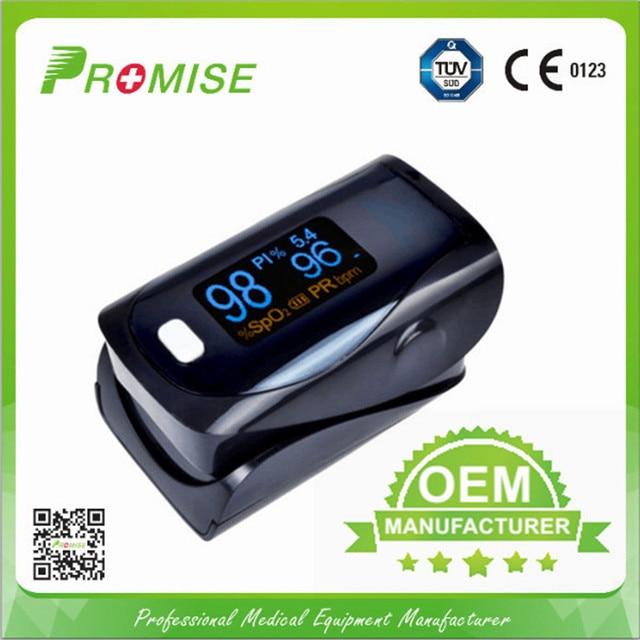 Sales Promotion! Promise Blood Oxygen Oximetro De Dedo Black Oximeter Finger.