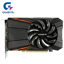 Gigabyte Графика карты GTX1050 Ti 4 GB карты с NVIDIA GeForce gtx 1050 Ti GPU 4 Гб GDDR5 128 видеокарты бита для ПК б/у карт