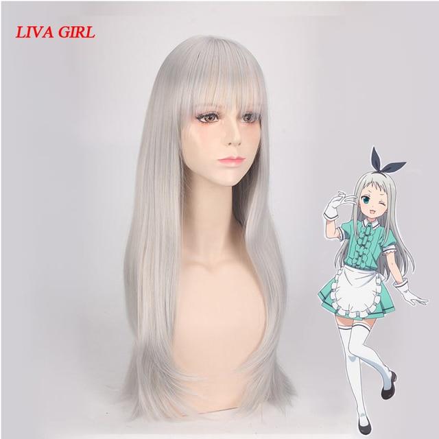 LIVA GIRL Japanese Anime Blend S Kanzaki Hideri Cosplay Hair Wig Heat  Resistant Synthetic Hair Perucas fe7a42243b50