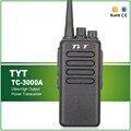 Бесплатная Доставка Водонепроницаемый 10 Вт УКВ 3600 МАЧ Литий-Ионный Высокая Выходная Мощность Walkie Talkie TYT TC-3000A